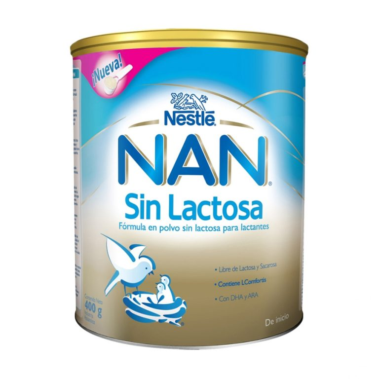 Leche Infantil en Polvo NAN Sin Lactosa x 400gr