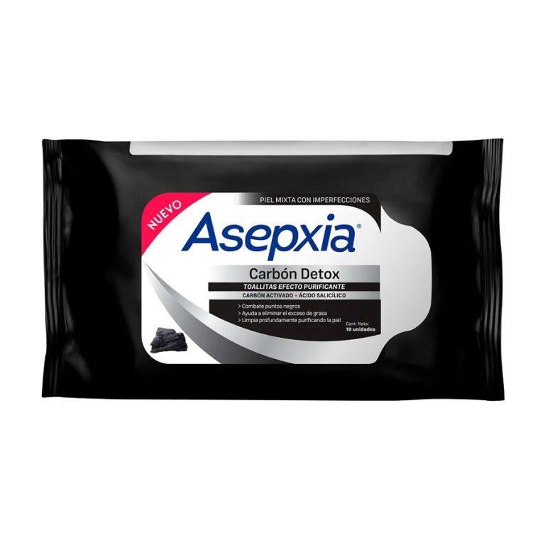 Toallitas Asepxia Carbon x 10 un