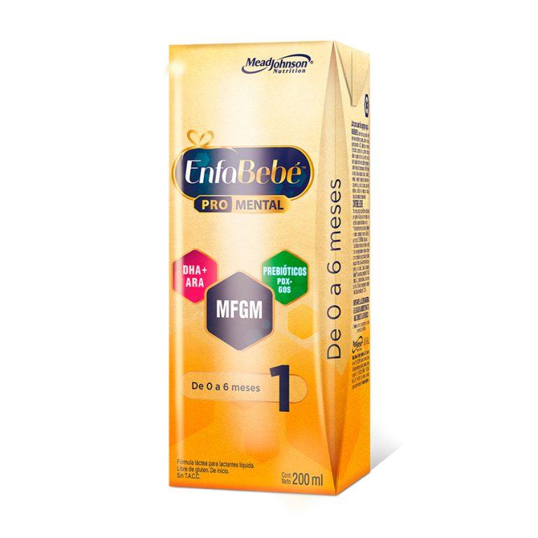 Leche Infantil Liquida Enfabebe 1 x 30 Un de 200ml