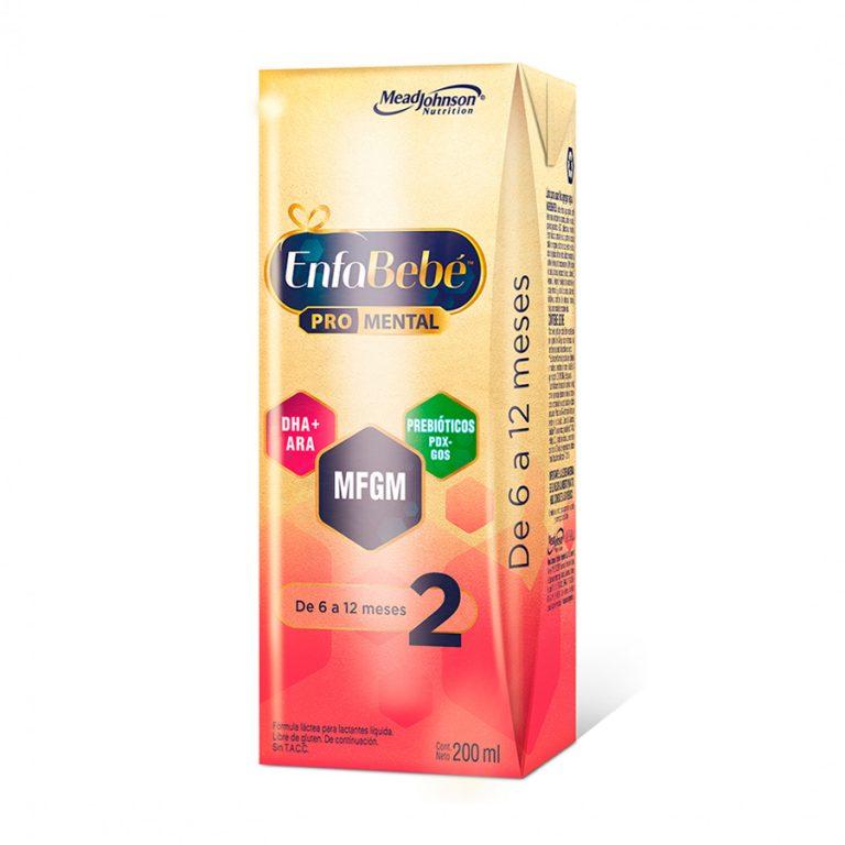 Leche Infantil Liquida Enfabebe 2 x 30 Un de 200ml
