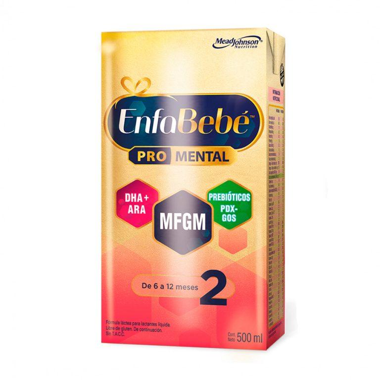 Leche Infantil Liquida Enfabebe 2 x 12 Un de 500ml