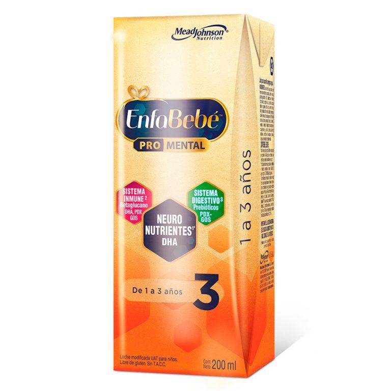 Leche Infantil Liquida Enfabebe 3 x 30 Un de 200ml
