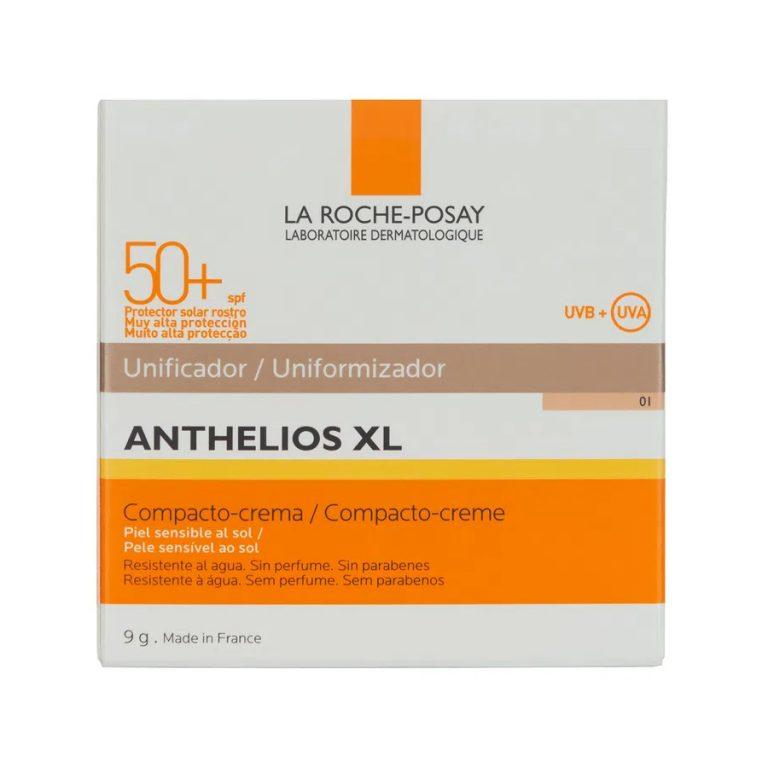 Protector Solar Facial Compacto-Crema Anthelios XL FPS 50+ Claro x 9gr