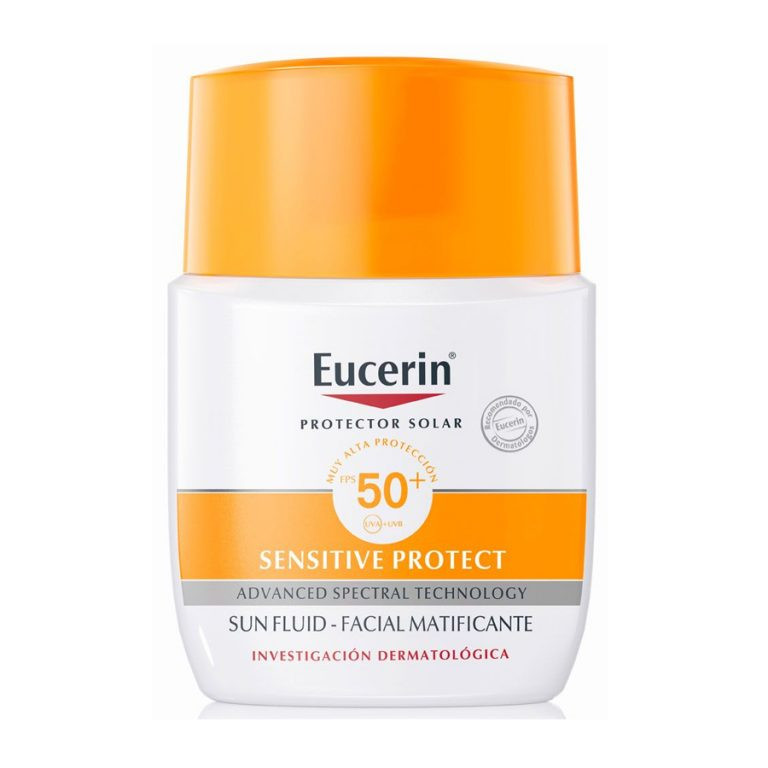 Protector Solar Eucerin Sensitive Protect Sun Fluid Fps 50 x 50ml