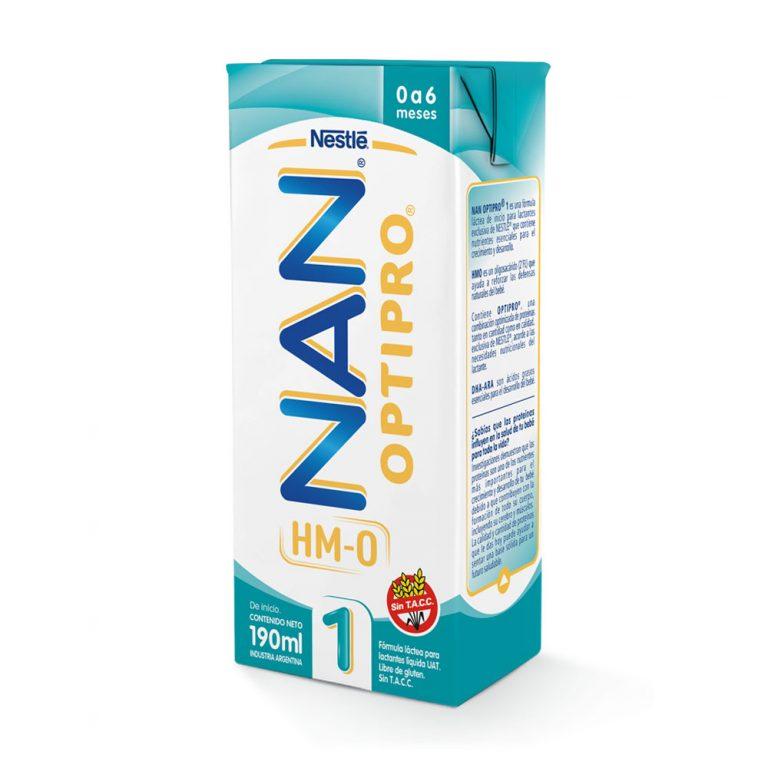 Leche Infantil Liquida Nan Optipro 1 x 24 Un x 190ml