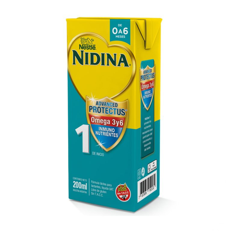 Leche Infantil Liquida Nidina 1 x 24 Un de 200ml