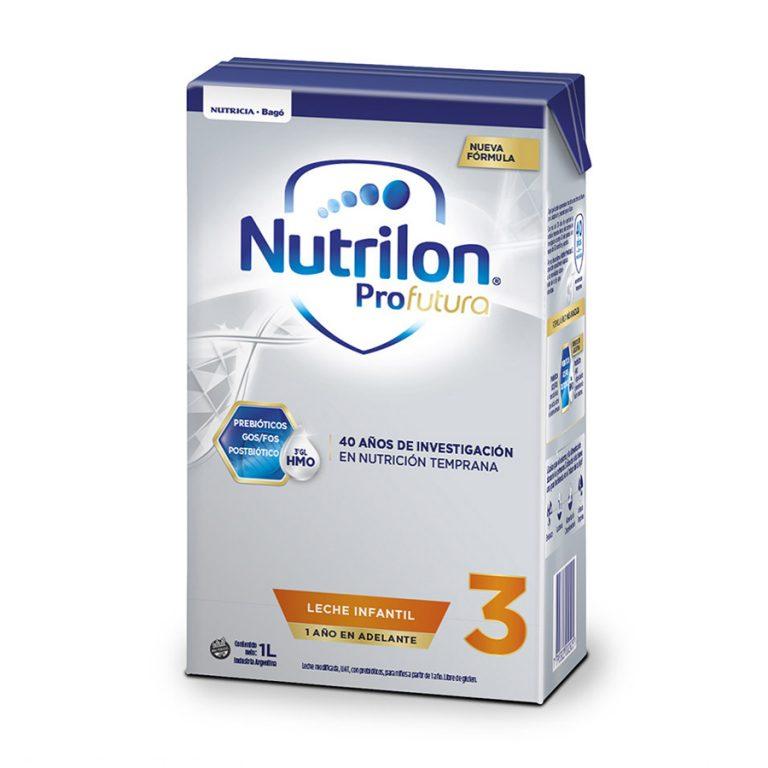 Leche Infantil Liquida Nutrilon Profutura 3 x 6 un de 1Lt