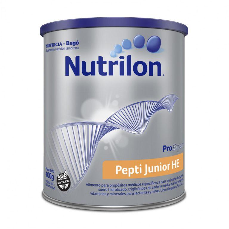 Leche Nutrilon Pepti Junior Alergia A La Prot Vaca x 400gr