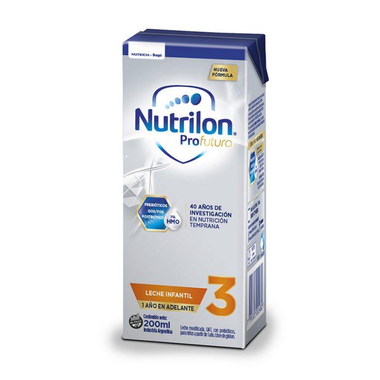 Leche Infantil Liquida Nutrilon Profutura 3 x 30 un de 200ml