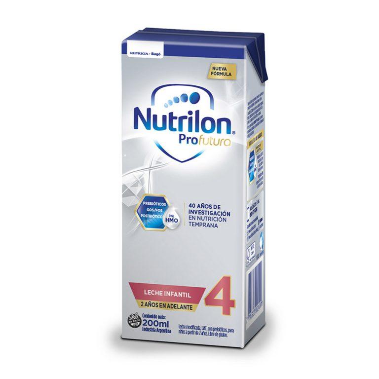 Leche Infantil Liquida Nutrilon Profutura 4 x 30 un de 200ml