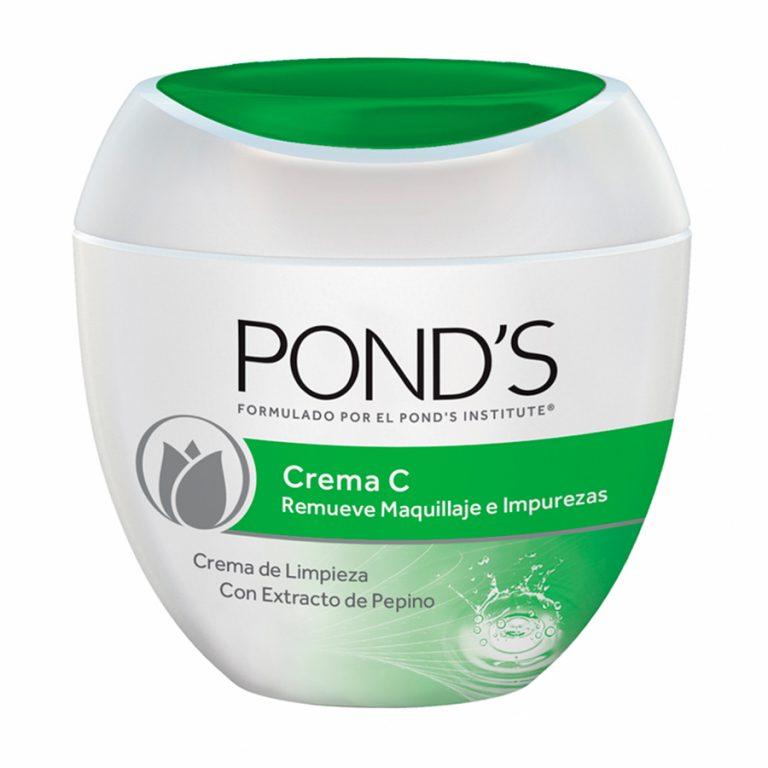 Crema C de limpieza Pond's con pepino x 100gr