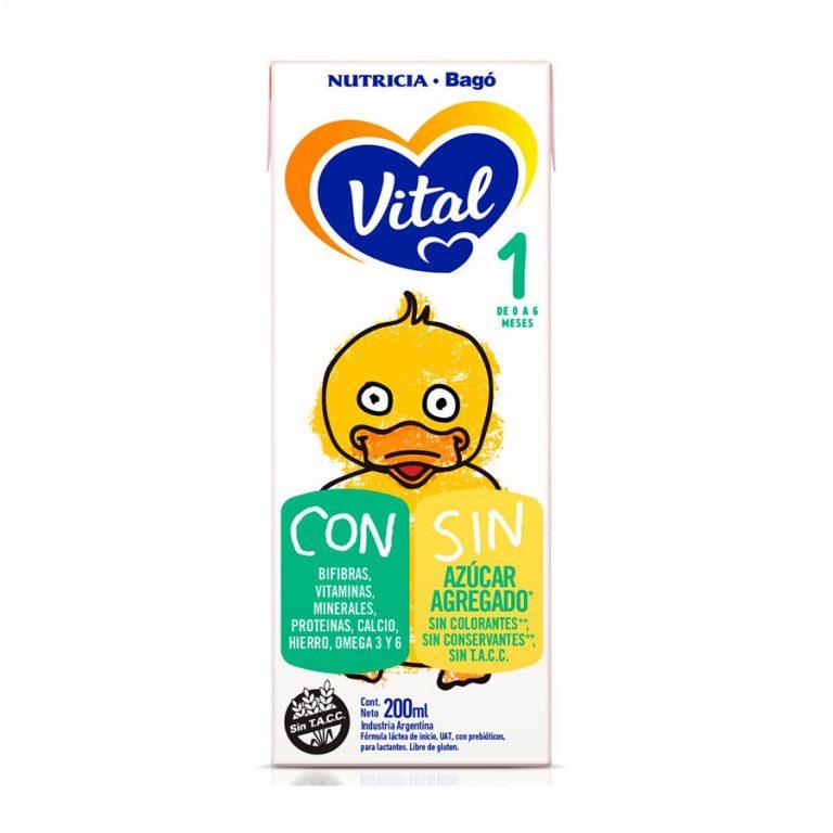 Leche Infantil Liquida Vital 1 x 30 Un 200ml