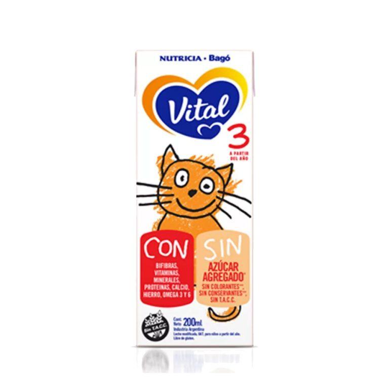 Leche Infantil Liquida Vital 3 x 30 Un 200ml