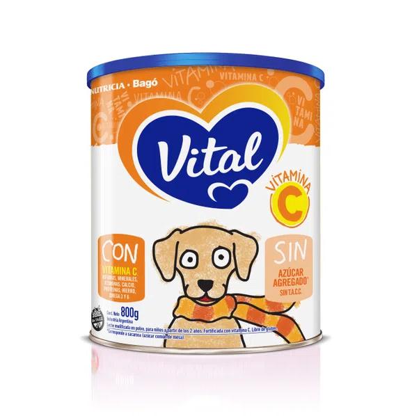 Leche Infantil En Polvo Vital Vitamina C