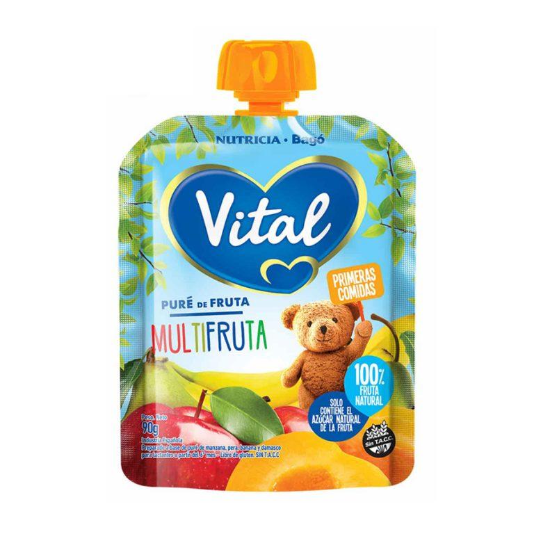 Pure De Frutas En Papilla Vital Sabor Multifruta x 90gr