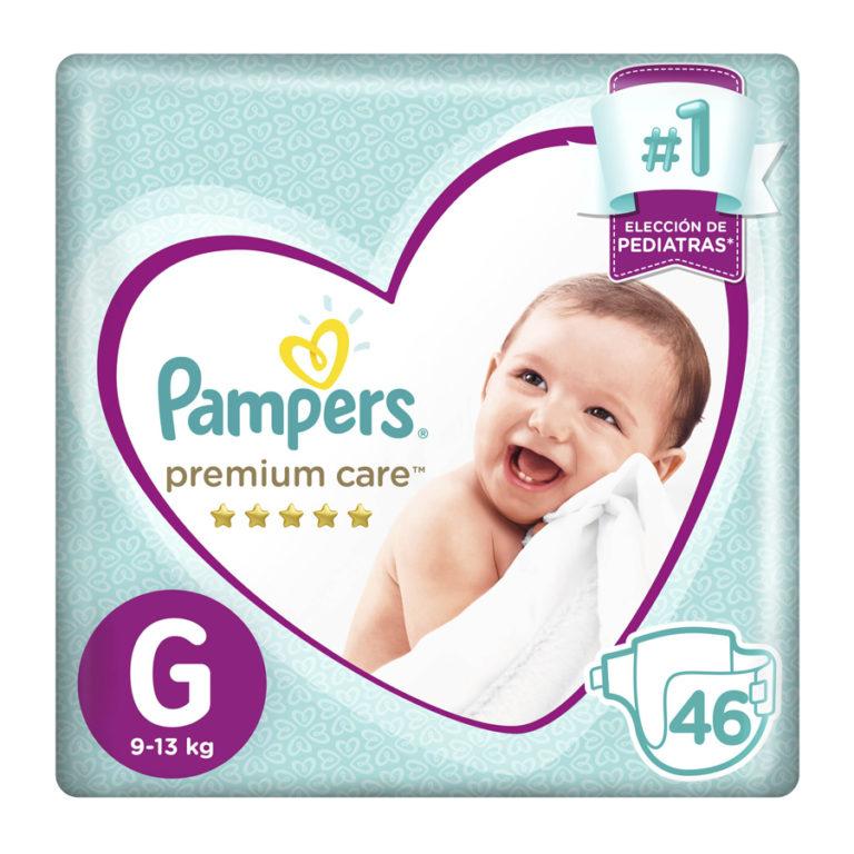 Pañales Premium Care G x 46 un