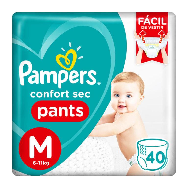 Pañales Confort Sec Pants M x 40 un