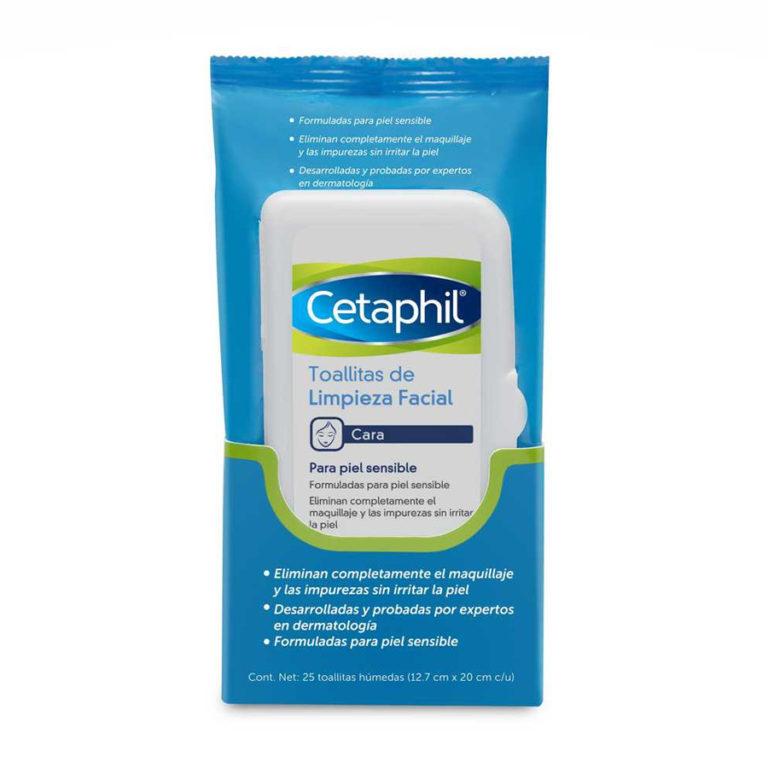 Toallitas de limpieza facial Desmaquillantes x 25 un