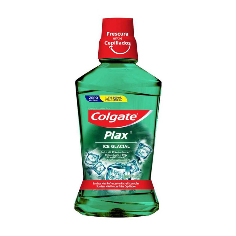 Enjuague Bucal Colgate Plax Ice Glacial 500ml