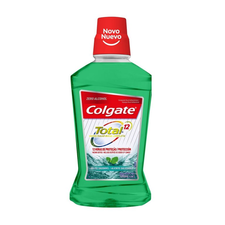 Enjuague Bucal Colgate Total 12 Aliento Saludable 500ml