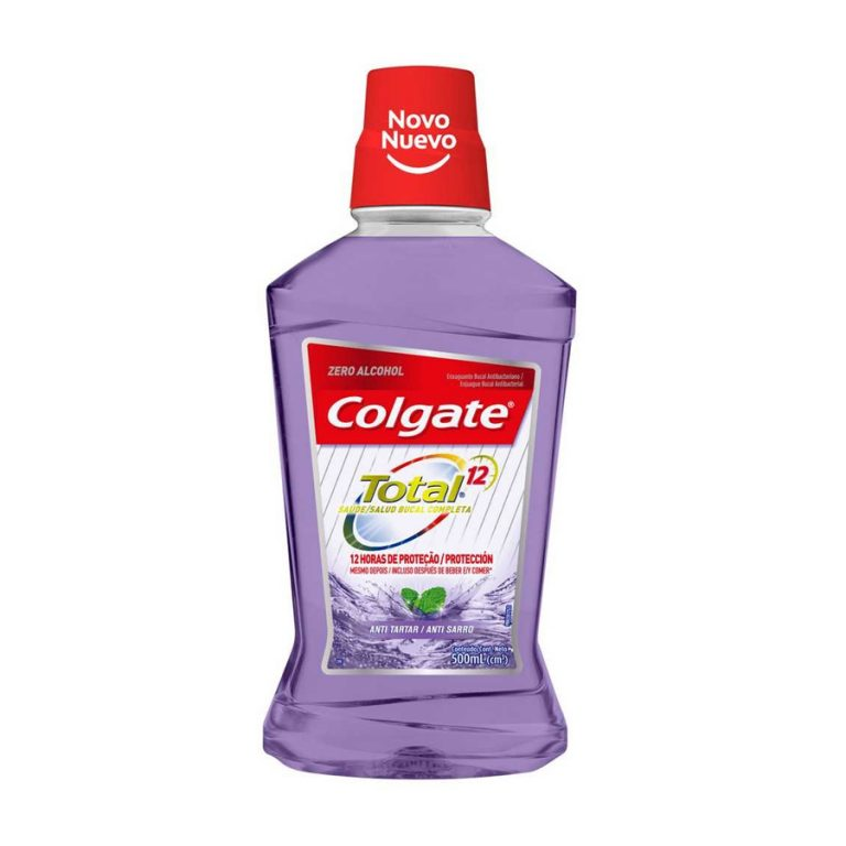 Enjuague Bucal Colgate Total 12 Tartar Defense 500ml