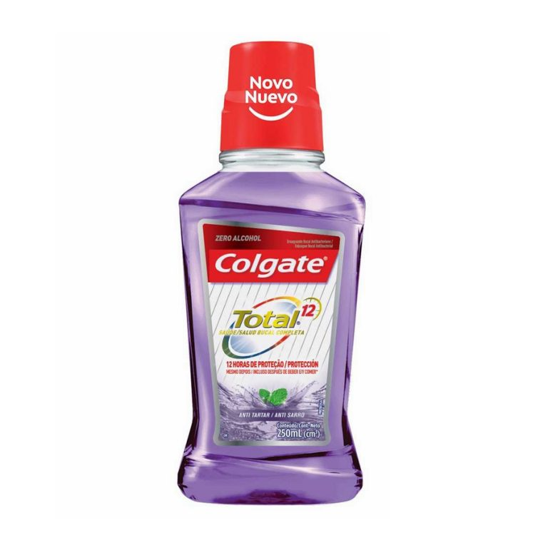 Enjuague Bucal Colgate Total 12 Tartar Defense 250ml