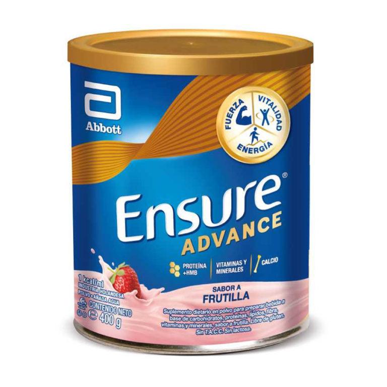 Ensure Advance Polvo Frutilla X 400 Gr