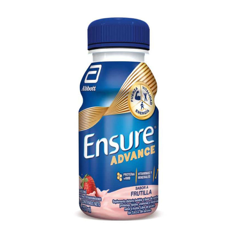 Advance Shake Frutilla x 237 Ml