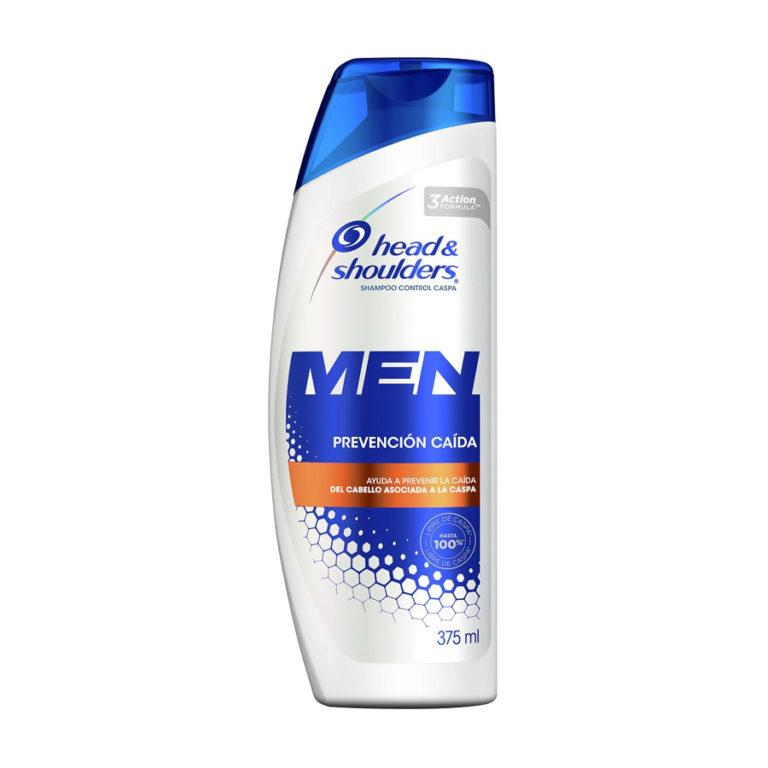Shampoo Head & Shoulders Prevención Caída para Hombres 375 ml