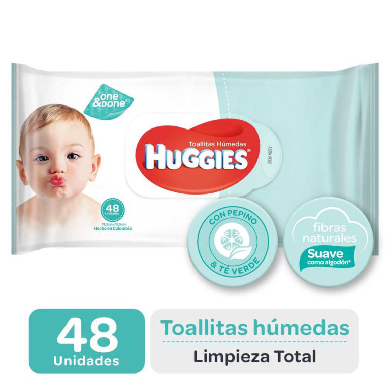 Toallas Humedas Limpieza Total One&done X48