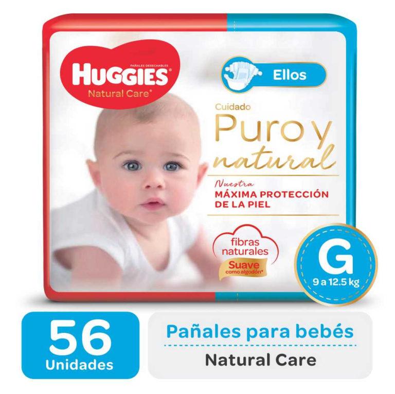 Pañales Natural Care Ellos G (de 9 a 12,5 kg) x 56 un