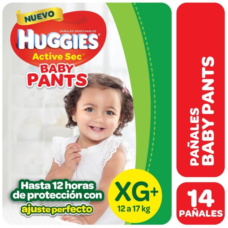Pañales Pants XG (12 a 17 kg) x 14 un