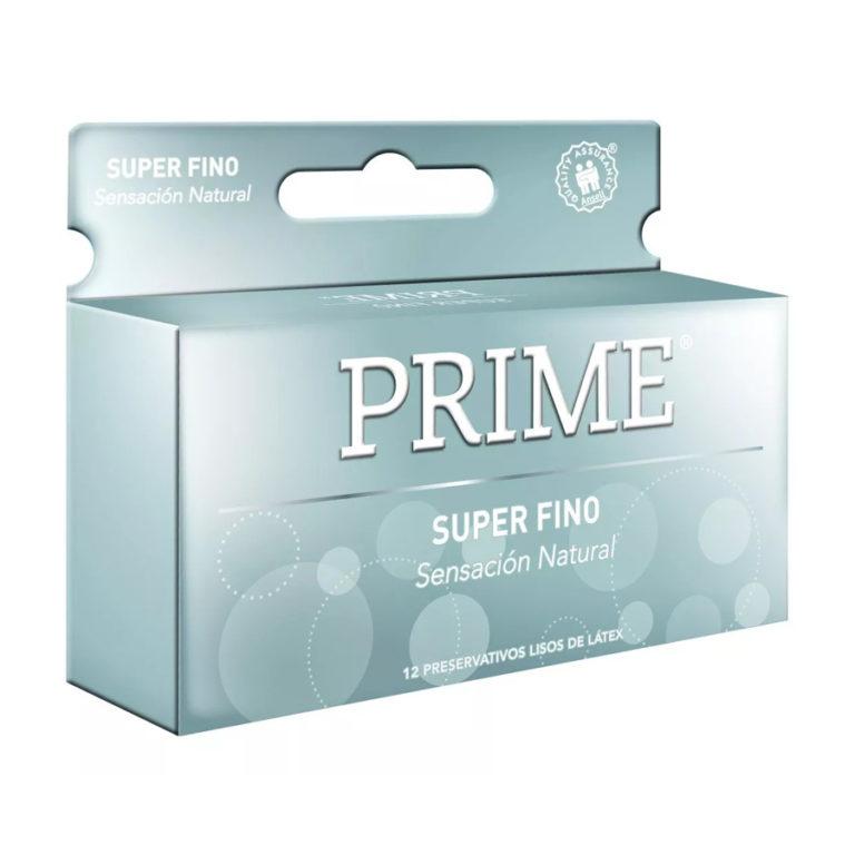 Preservativo de Látex Super Fino x 12 un