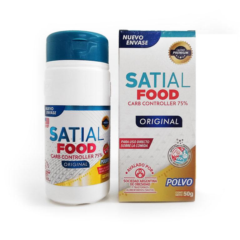 Suplemento Dietario Satial Food Carb Controller Polvo X 50 Gr
