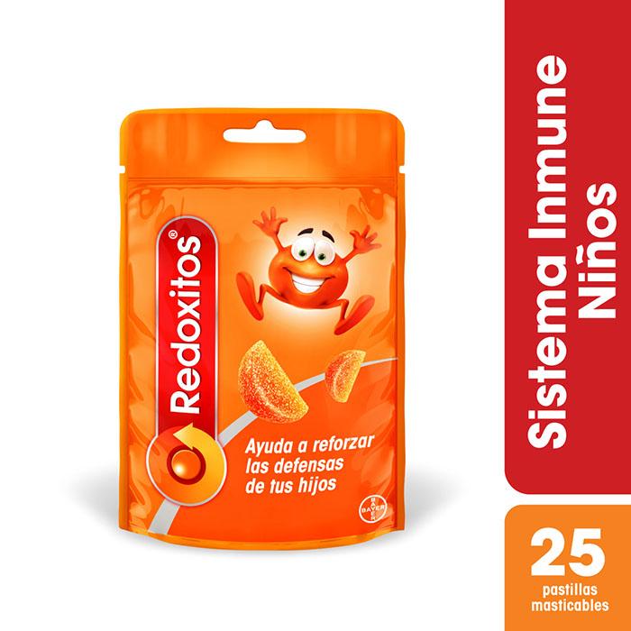 Redoxitos Naranja x 25 Pastillas Masticables