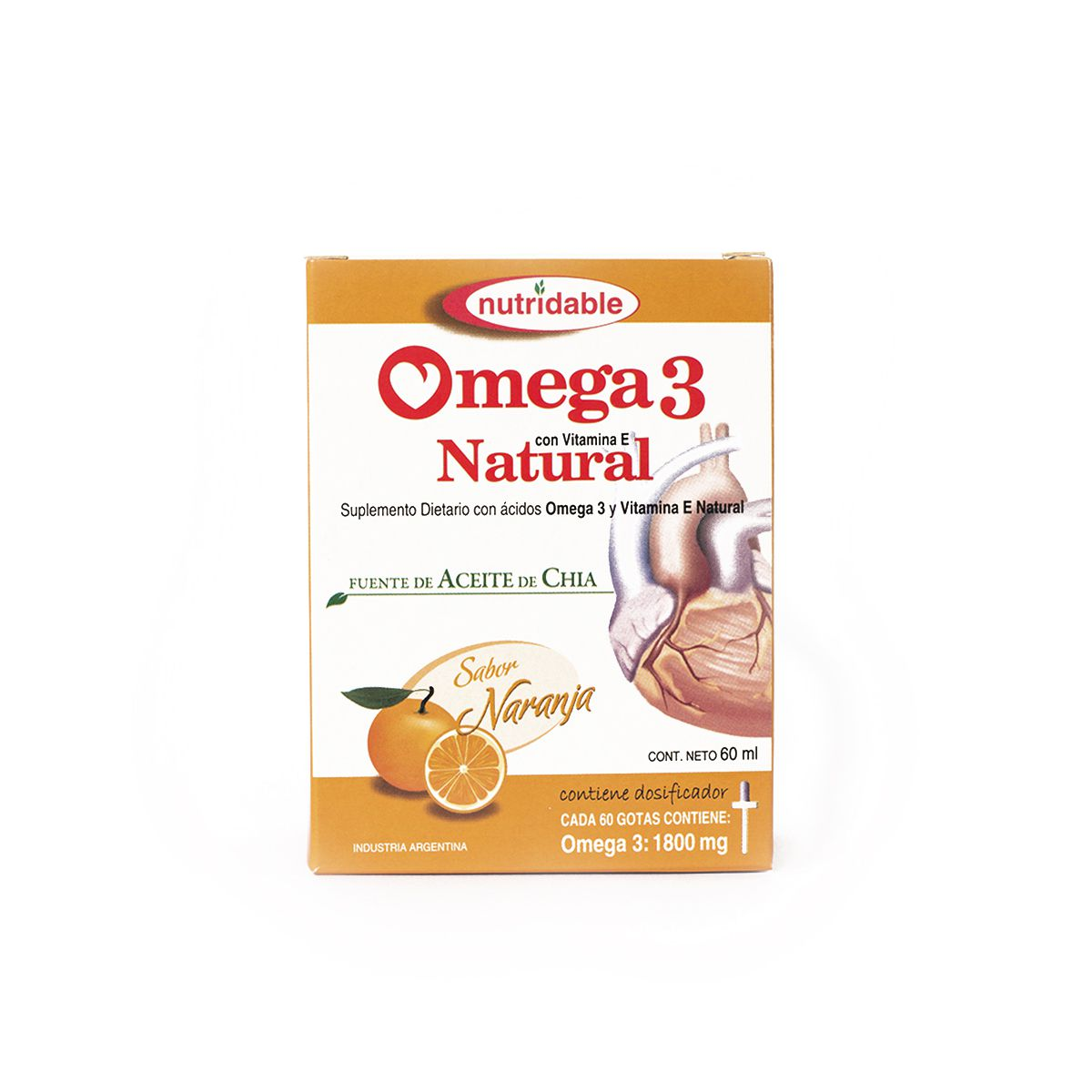 Omega 3 Natural Naranja Gotas 60 Ml
