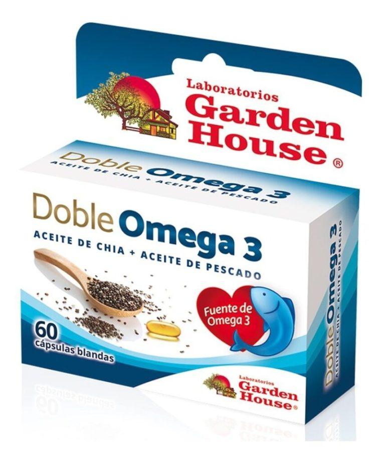 Doble Omega 3 x 60 Capsulas
