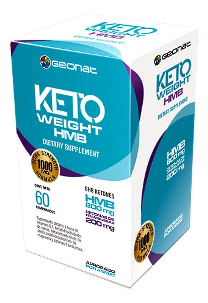 Adelgazante Cetosis Keto Weight Hmb x 60 Comprimidos
