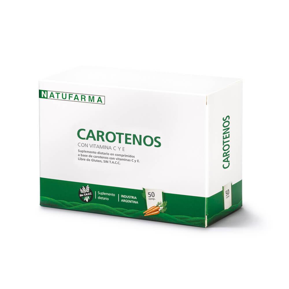 Carotenos X 50 Comprimidos