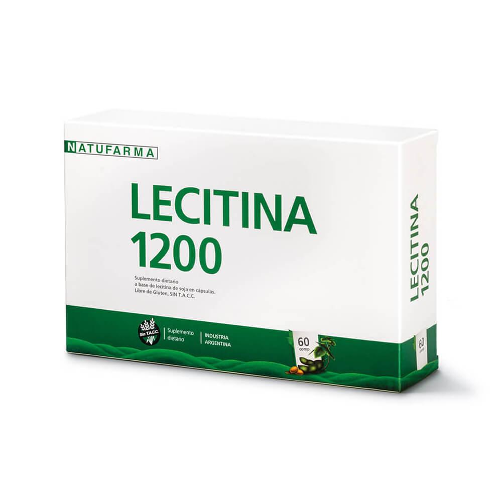 Lecitina De Soja 1200 X 60 Capsulas