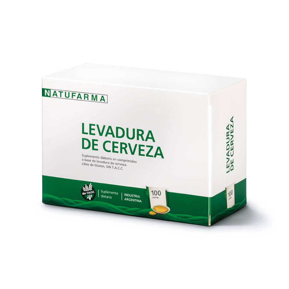 Levadura De Cerveza X100 Comprimidos