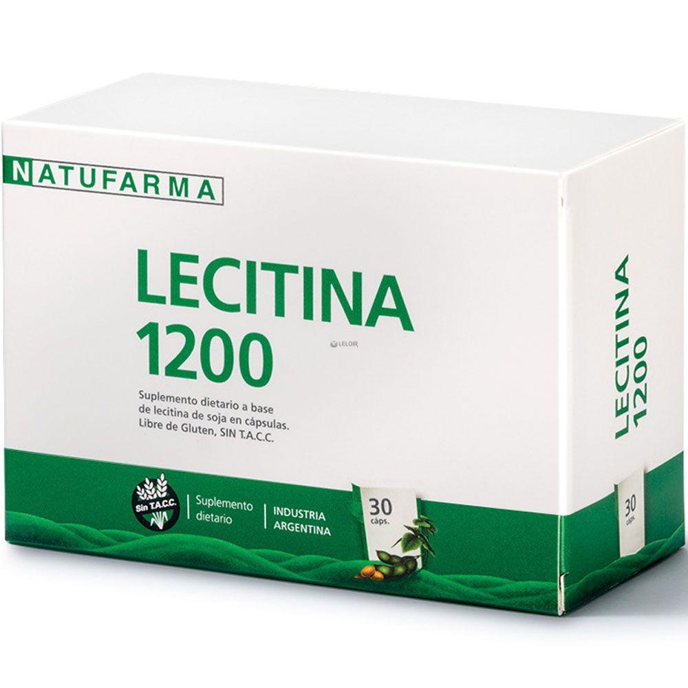 Lecitina De Soja 1200 X 30 Capsulas
