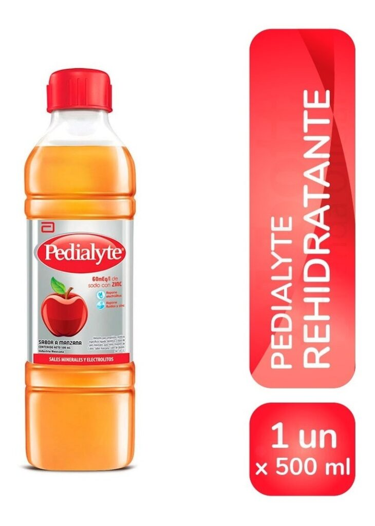 Pedialyte Sabor Manzana X 500 Ml