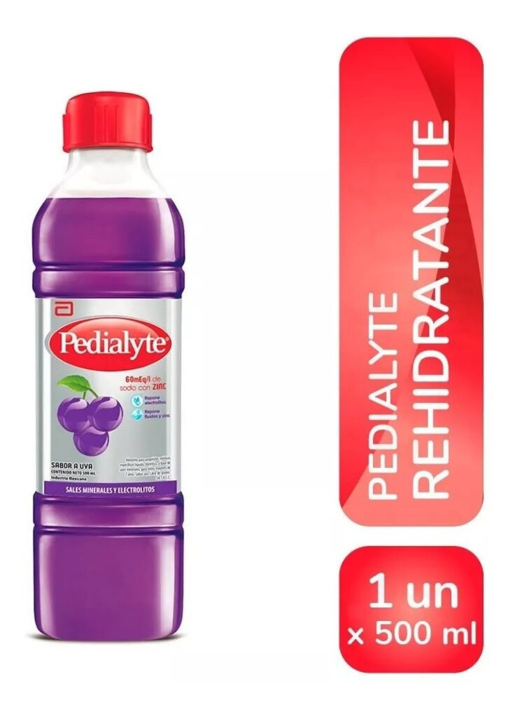 Pedialyte Sabor Uva X 500 Ml
