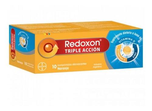 Redoxon Triple Acción x 10 Comprimidos Efervescentes